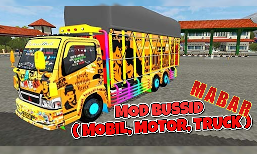 MOD BUSSID FOR MABAR ( Mobil,Truk, Motor) 1.0 screenshots 1