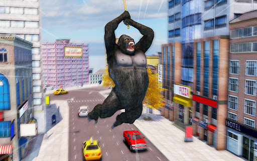 Crazy Gorilla GT Rampage-Superhero Mega Ramp Stunt apkdebit screenshots 21