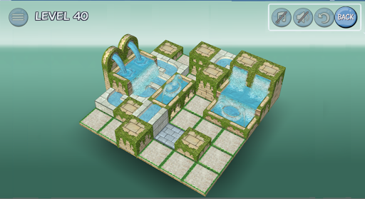 Flow Water Fountain 3D Puzzle 1.2 Screenshots 22