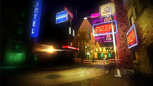 cyber retro punk 2069 | 3d cyberpunk fps screenshot 2