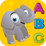 ABC Animal Alphabet Tracing - Puzzle Coloring Book