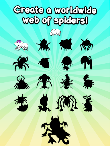 Spider Evolution - Merge & Create Mutant Bugs screenshots 8