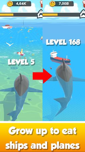Idle Shark World: Hungry Monster Evolution Game screenshots 4