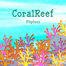 GFCoralReef™ Latin Flipfont Download on Windows
