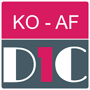 Korean - Afrikaans Dictionary & translator (Dic1)