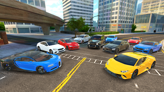 Racing in Car 2021 – POV traffic driving simulator 1