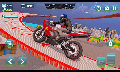 City Bike Driving Simulator-Real Motorcycle Driver screenshots 1