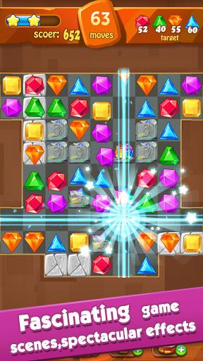 Jewels Classic - Jewel Crush Legend Apkfinish screenshots 4