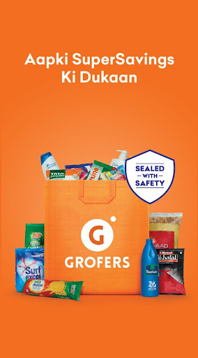 Grofers-grocery delivered safely with SuperSavings 5.5.68 screenshots 1