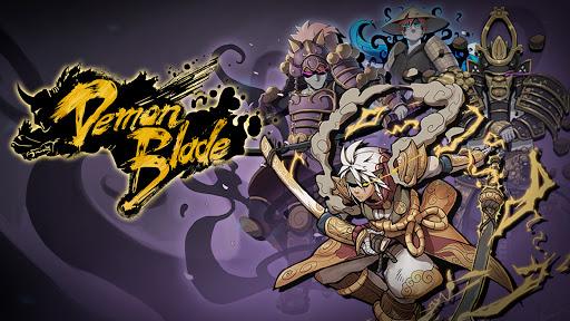 Demon Blade - Japanese Action RPG apkpoly screenshots 23