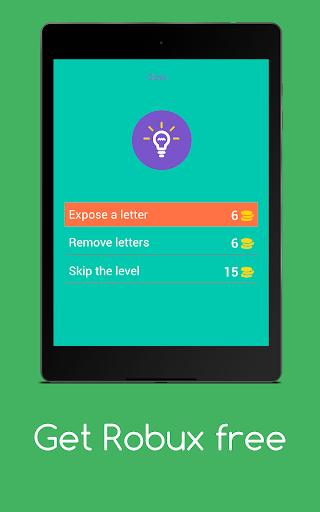 Get Robux Free - Quiz 2021  screenshots 17