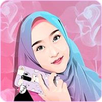 Hijab Muslimah Cartoon Wallpapers