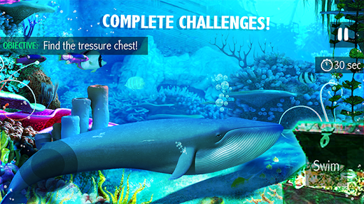 Blue Whale Simulator - Deep Ocean 1.1.5 screenshots 7