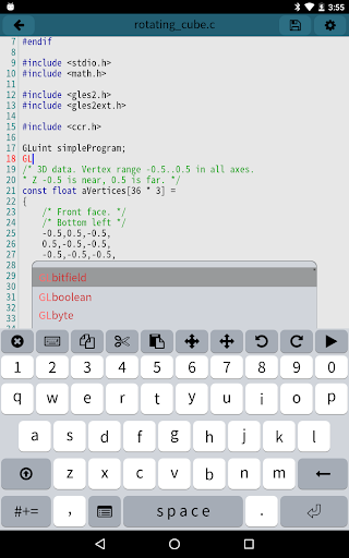 Mobile C [ C/C++ Compiler ] 2.5.2 Screenshots 8