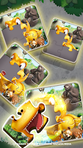 GON: Match 3 Puzzle | Dinosaur jungle adventure Apk Mod + OBB/Data for Android. 4