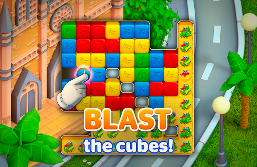Traveling Blast: Match & Crash Blocks with Friends  screenshots 2