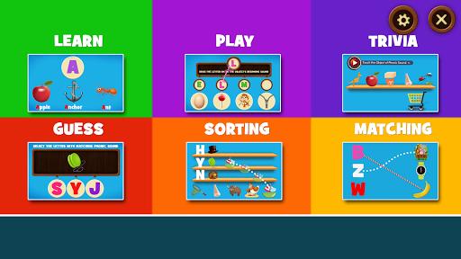 Learning Phonics for Kids  screenshots 1