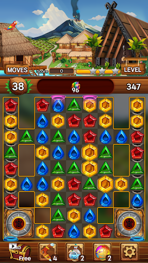 Island of Jewels: Aloha ! Match3 puzzle  screenshots 8