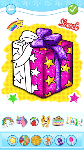 Christmas Coloring Game - Learn Colors  screenshots 3