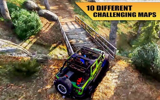 4x4 Suv Offroad extreme Jeep Game apkpoly screenshots 8
