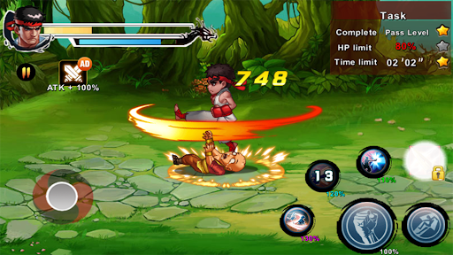 Street Fighting Man - Kung Fu Attack 5 1.0.5.186 screenshots 3
