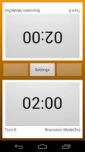 chess clock screenshot 1