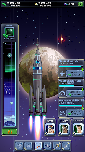 Idle Tycoon: Space Company modavailable screenshots 2