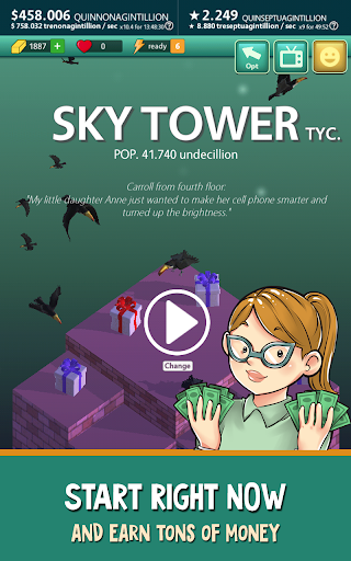 Sky Tower Tycoon u2013 Your Idle Adventure 2.3.5 screenshots 22