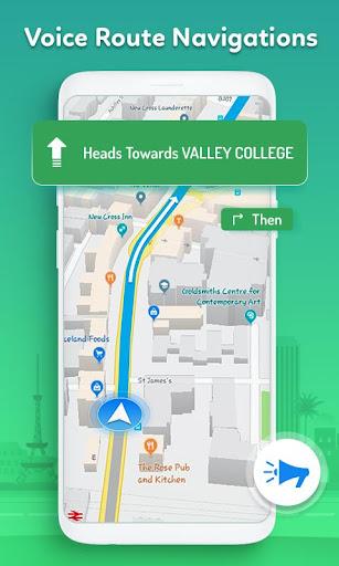 GPS, Maps, Live Navigation & Traffic Alerts 5.32 screenshots 2