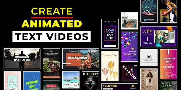 Text to Animation Video Maker – Marketing Video Maker 1