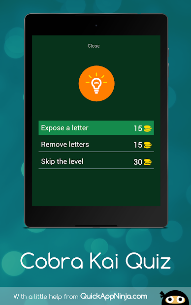 Screenshot 12 de Cobra Kai Quiz para android