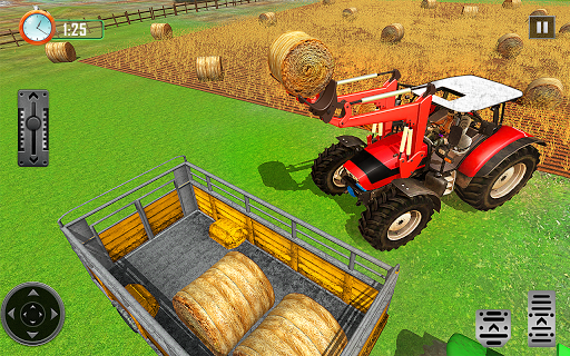 Farming Tractor Driver Simulator : Tractor Games android2mod screenshots 8
