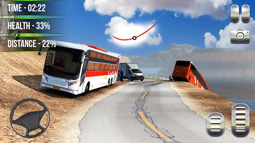 Heavy Bus Simulator 2021:Offroad Cargo Bus Drive  screenshots 8