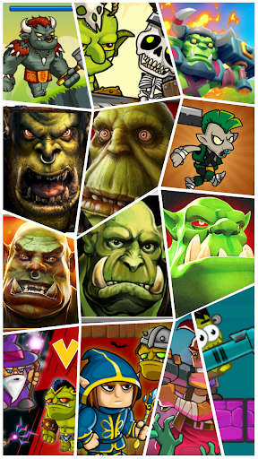 Clash of Orcs : Orc Battle Game Collection 1.3 screenshots 1