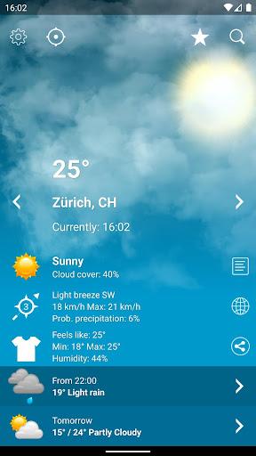 Weather Switzerland XL PRO 1.4.6.4-ch Screenshots 1