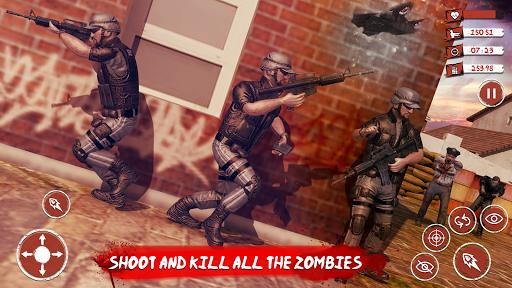 Zombie Target Dead Survival-Reddy Zombies Shooting apklade screenshots 2
