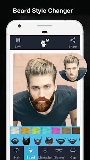Men Hair Style - Photo Editor - Men Hair Editor  Screenshots 2