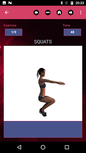 Legs and buttocks workout for women modavailable screenshots 2