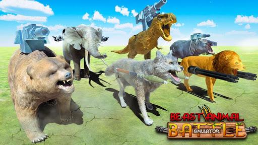 Beast Animals Kingdom Battle: Dinosaur Games 2.6 screenshots 18