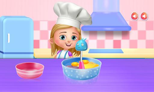 cooking toy bear cake screenshot 3