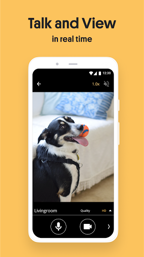 Alfred Home Security Camera: Baby Monitor & Webcam android2mod screenshots 4