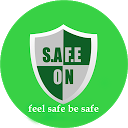 SafeON- Personal Safety App & Emergency Alert