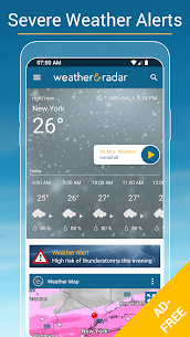 Weather & Radar USA Mod Apk- Winter alerts (Paid/Mod Extra) 5