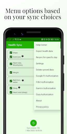 Health Sync 7.0.0 Screenshots 5