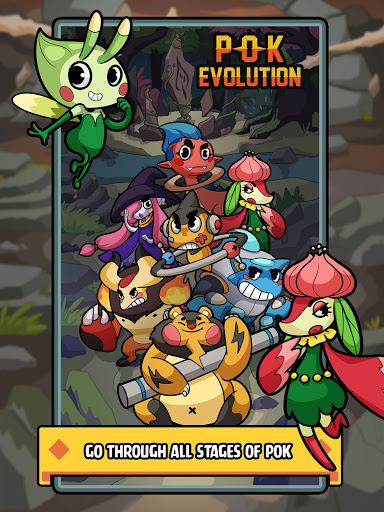 Pok Evolution: Clicker Planet - Idle Merge Game 1.3.0 screenshots 11