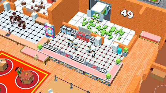 Idle Cafe Tap Tycoon MOD (Unlimited Money) 2