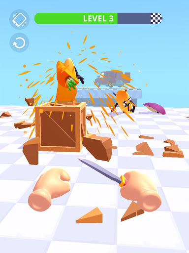 Hit Tomato 3D: Knife Throwing Master screenshots 21