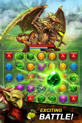 Dungeon Puzzles: Match 3 RPG  screenshots 1