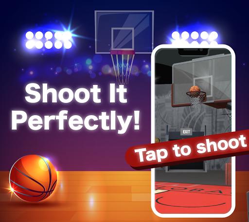 (JAPAN ONLY) Shooting the Ball - Basketball Game 1.588 screenshots 1