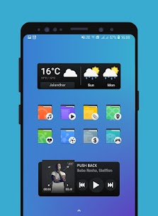 Belle Pro Icon pack   Wallpapers   KWGT Patched APK 4